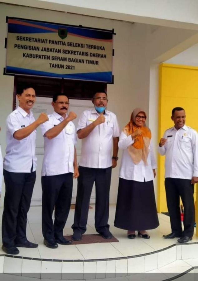 5 Kandidat Seleksi Pengisian Jabatan  Sekda Kabupaten Seram Bagian Timur Sudah Mendaftar