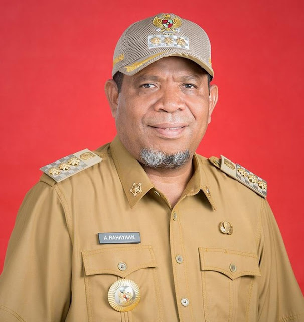 Adam Rahayaan Wali kota Tual  Keluarkan Edaran PKHM Tahun 2021