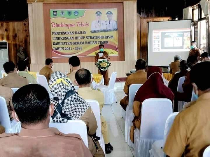 Wabub Susun Kajian Lingkungan Hidup Strategis  RPJM Kabupaten SBT